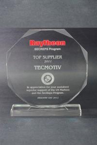 2011: Raytheon Top Supplier Award