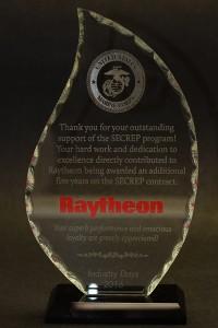 2016: Raytheon Appreciation Award