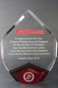 2015: Raytheon Excellent Service Award