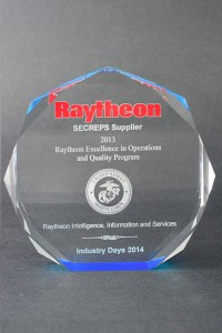 2013: Raytheon Excellence in Operations and Quality
